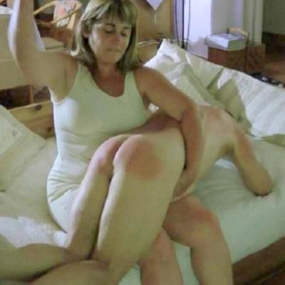 Women spanking men spanking wall