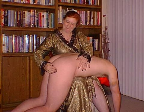 Mature women who spank men