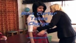 Miss Carter Takes Charge - from Wellspanked