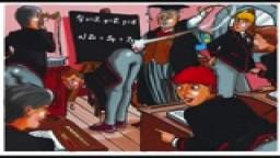 Spanking Schoolgirl/Schoolboy Cartoons
