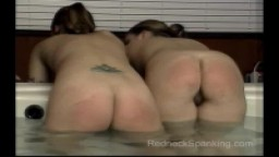 Ginger and Marilyn for RedneckSpanking.com