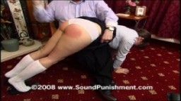 Lena's first film spanking