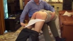 Spanked By Dad