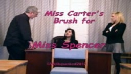 Miss Carter's Brush - Miss Spencer - from Wellspanked