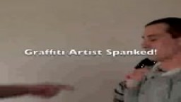 Graffiti Artisit Spanked - Billy - Straight Lads Spanked
