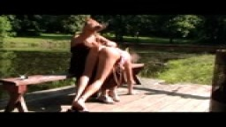 jennifer's outdoor spanking #1