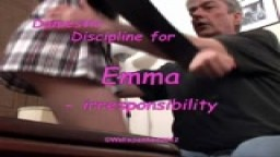 Domestic Discipline for Emma - irresponsibility
