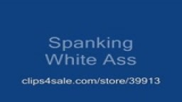 Spank my white ass
