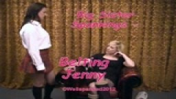 Big Sister Spankings - Belting Jenny - from Wellspanked