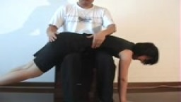 chinese spanking video #6