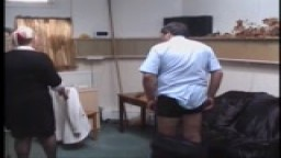 Teacher gets a Caning