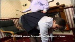 24 strokes of the cane for schoolgirl Lena