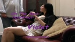 On The Spot Spankings - Violet - from Wellspanked