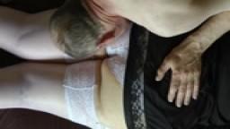 A gentle spanking for my pretty BBW wife