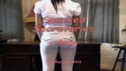 Spanked Secretaries - Amy