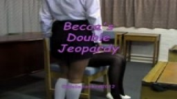 Becca's Double Jeopardy - from Wellspanked