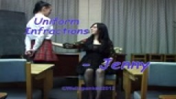 Uniform Infractions - Jenny - from Wellspanked