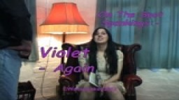 On The Spot Spankings - Violet Again!