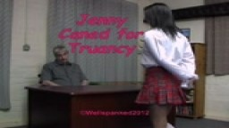 Jenny Caned for Truancy