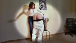 Schatten spanking