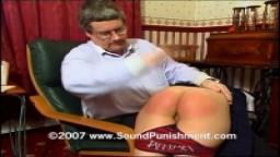Misty's first spanking