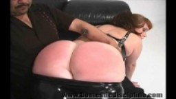 Spanked On The Set