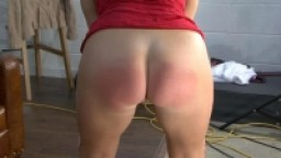 Hot Girl Caned