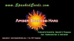 Amber Spanked Hard