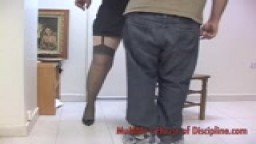 OTK spanking - Sonny's maintenance spanking with hair brush