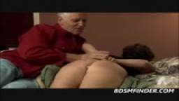 A Plump Mothers Ass Figged And Spanked