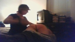 spanked in the bedroom part 2