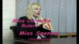 Miss Carter's Ruler - Miss Spencer - from Wellspanked