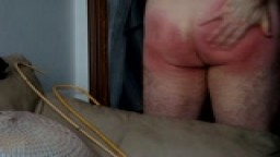 AN INTENSE SELFSPANKING WITH MY HAND UNTILL MY BOTTOM IS VERY RED, WARM AND VERY SORE