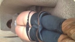 Belt whippin