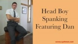 Head Boy Spanking-Featuring Dan and JB Spanks