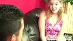Amateur girl spanking her boyfriend
