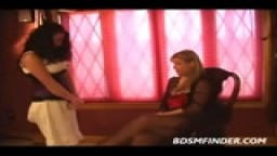 MILF Lesbian Spanking