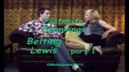Flatmate Spanking - Belting Lewis - Part 1 - from Wellspanked