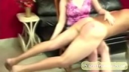 Amateur ccouple spanking home vid