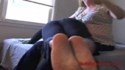 OTK Sandal Spanking