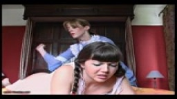 Rosaleen Young overslept again - Caned Angel