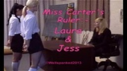 Miss Carter's Ruler - Laura & Jess