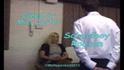 Miss Carter Canes - Schoolboy Robson - from Wellspanked