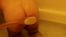 bathtub spanking