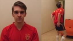 Soccer Star Spanking! Featuring Milan