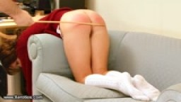 Caning for Jasmine - HD Spank