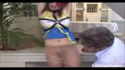 Asian Teen Cheerleader Dominated And Creampied