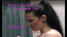 Tears Before Bedtime - for Laura - from Wellspanked