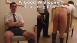 A Good Walloping! Featuring Erik Includes Bonus Footage!