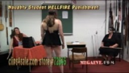 Naughty Student HELLFIRE Punishment